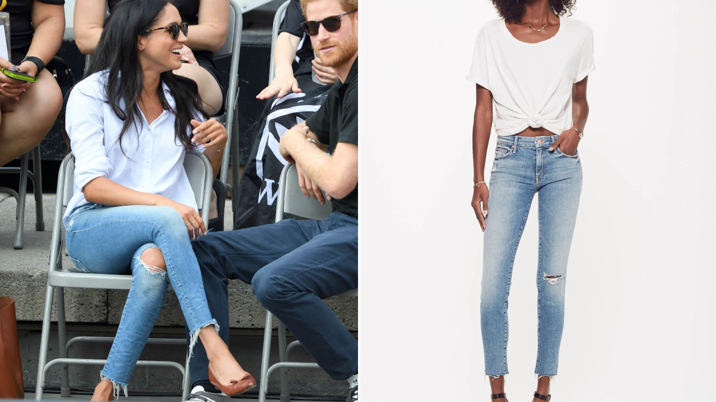 Meghan Markle's Favorite Skinny Jeans Are Finally Back inStock